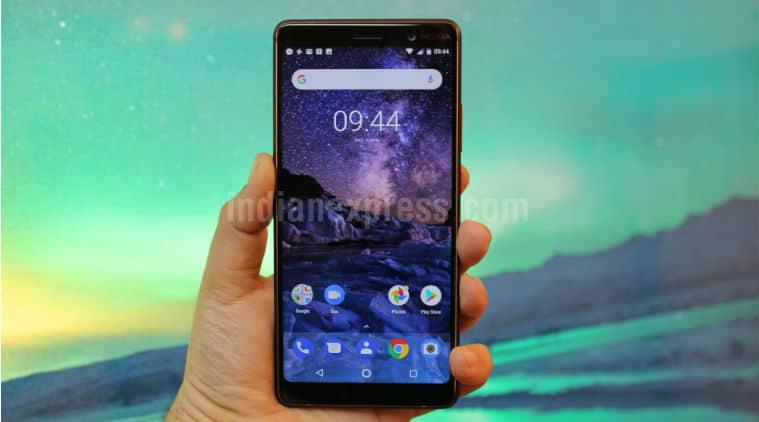 nokia 7 plus android p update