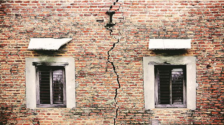 A shaky life in Khera Kalan, home to  91 of 118 'dangerous' buildings in North corporation