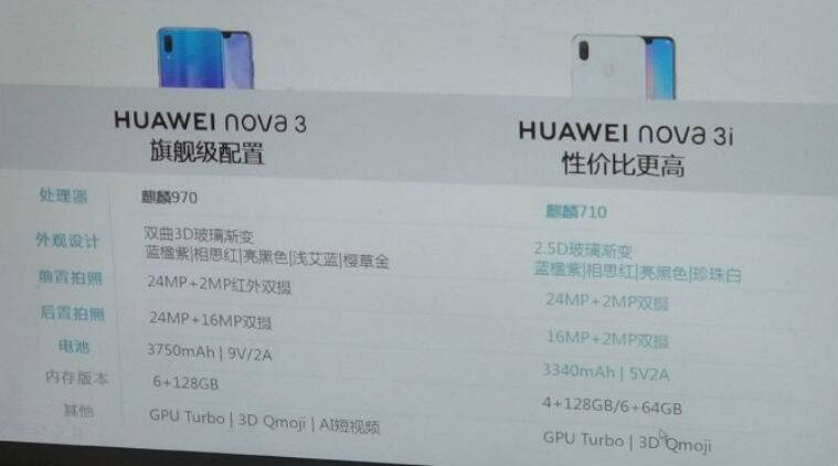 Huawei Nova 3i is expected to launch in India on July 26 as an Amazon exclusive, and it will feature a Kirin 710 processor