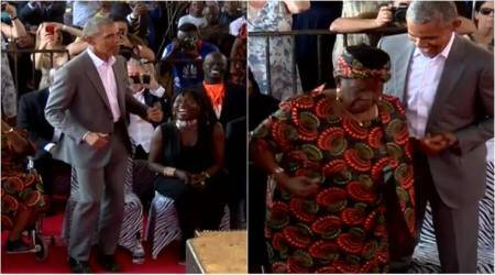 WATCH: Barack Obama dances in Kenya with grandmother; video goes viral