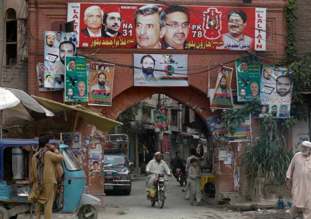 Security tightened as Pakistan braces for general election