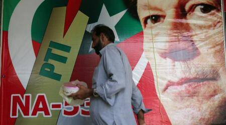 How a phone app and a database served up Imran Khan's Pakistan election win