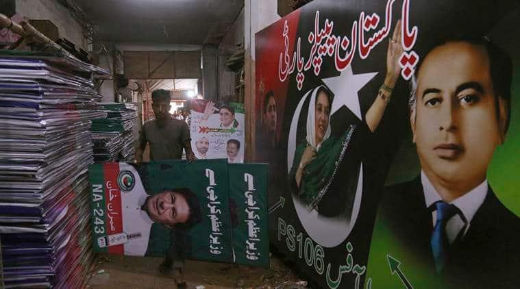 Pakistan, Pakistan elections, Pakistan general election, Nawaz Sharif, Imran Khan, Tehreek-e-Insaf, Pakistan People Party, Indian express