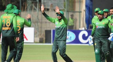 Live Cricket Score Zimbabwe vs Pakistan 4th ODI