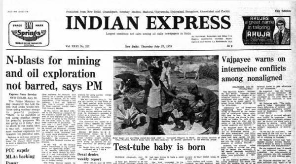 Forty Years Ago, July 27, 1978: Test-tube Baby