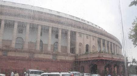 Monsoon Session: Parliament starts with smooth showers