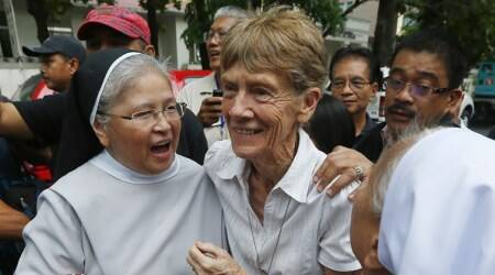 Philippines to expel 'undesirable' Australian nun who irked Duterte