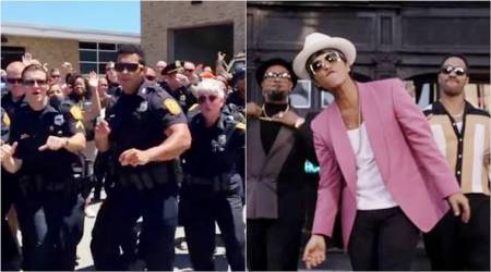 Police Department's lip sync battle video on Uptown Funk will leave you grooving!