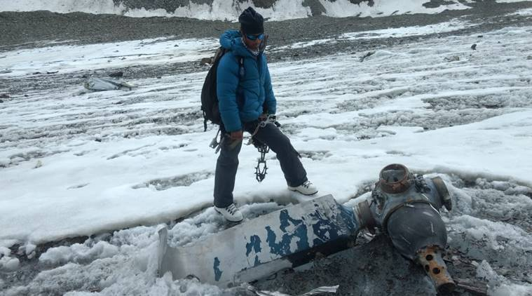 Image result for Mountaineering team stumbles upon 50-year-old wreckage of IAF