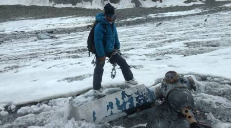 Mountaineering team stumbles upon 50-year-old wreckage of IAF plane