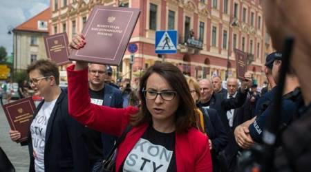 Poland opposition boycotts parliament independence daycentennial