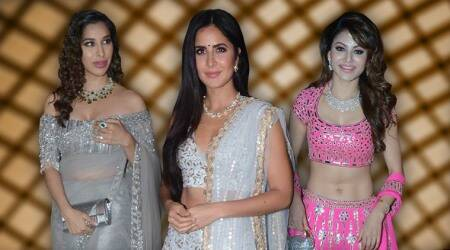Poorna Patel, Praful Patel, katrina kaif, sonakshi sinha, Sophie Choudry, Nushrat Bharucha, Natasha Poonawalla, Karan Tacker, Punit Malhotra, Sagarika Ghatge, Adar Poonawalla, celeb fashion, bollywood fashion, indian express, indian express news