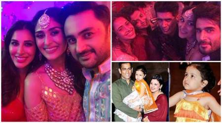 Inside Poorna Patel's sangeet: Nushrat Bharucha, MS Dhoni and Sophie Choudry in attendance