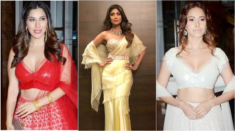 Let's take a look at the best and worst dressed celebs at Poorna Patel's Sangeet ceremony. (Source: Express Photo by Varinder Chawla)