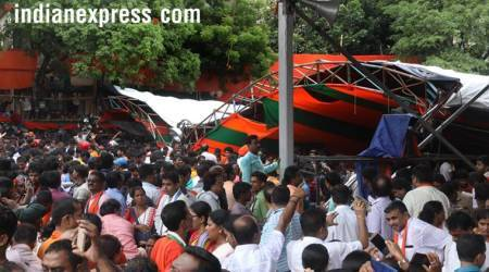 Tent collapse at Modi Midnapore rally: Decorator says police, BJP workers did not heed warning
