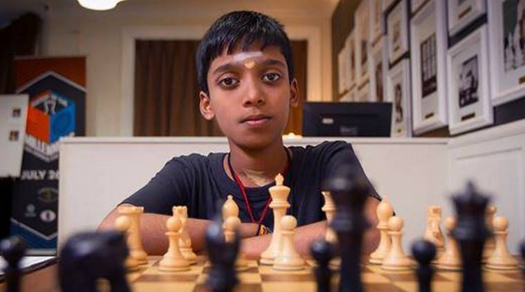 R Praggananadha, R Praggananadha news, R Praggananadha updates, Viswanathan Anand, sports news, chess, Indian Express