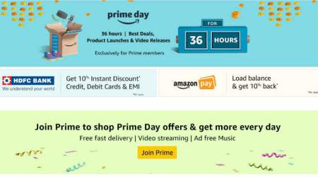Amazon Prime Day 2018 LIVE UPDATES: Top deals on smartphones, laptops, smartwatches and more