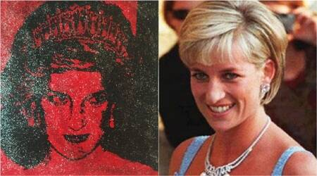 This artist made Princess Diana's portrait using HIV+ve blood for an important reason