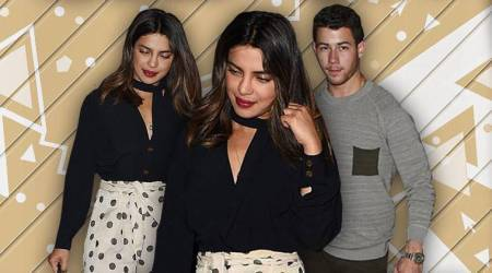 Priyanka Chopra continues 36th birthday celebrations with Nick Jonas in this chic monochrome number