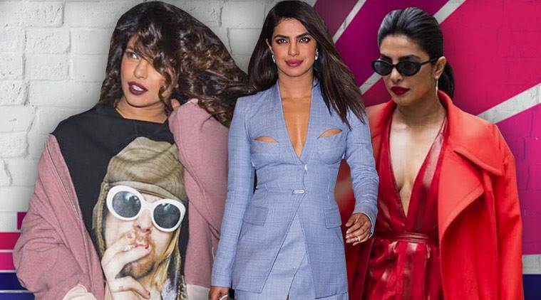 Priyanka Chopra birthday, Priyanka Chopra latest photos, Priyanka Chopra fashion, Priyanka Chopra street style, Priyanka Chopra iconic style, Priyanka Chopra Nick Jonas, indian express, indian express news