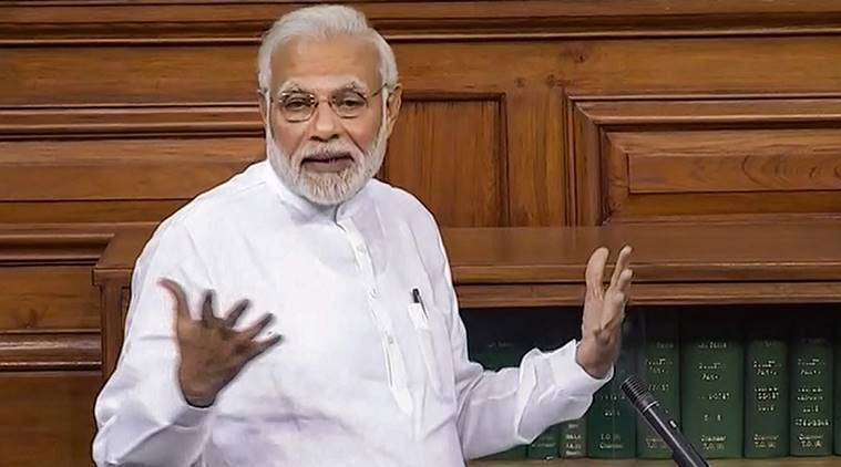 Ruckus during PM speech: For ex-ally TDP, it ends in the Well