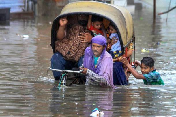 Heavy rains lash several parts of India