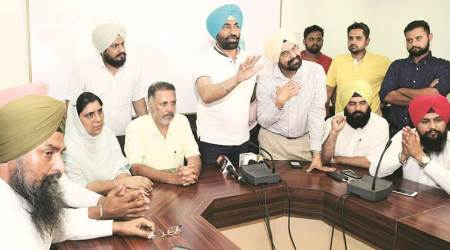 Trouble has been brewing between Balbir and Khaira since the former issued a statement distancing the party's Punjab unit from the remarks made by Khaira on 'Referendum 2020'. (Express photo/File)