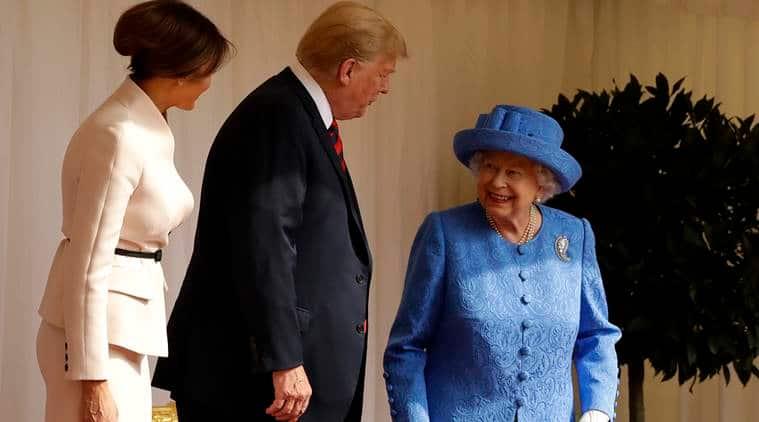 Queen Elizabeth, Barack Obamas, Donald Trump, Queen Elizabeth brooch, royal brooch, Queen Elizabeth brooch