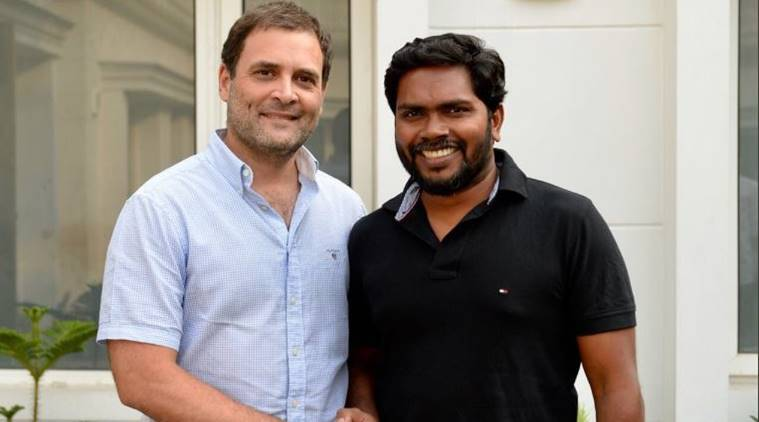 Rahul Gandhi with Ranjith