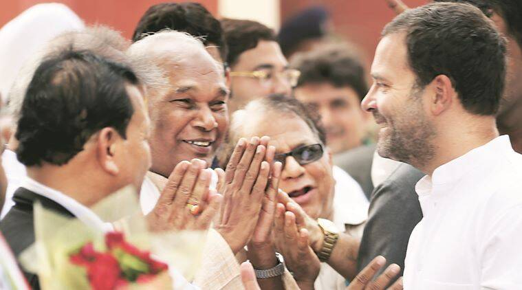 Rahul Gandhi in Amethi