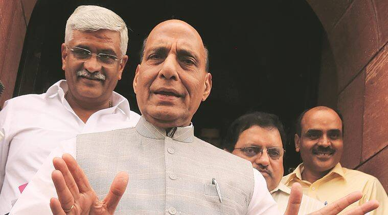 Assam NRC final draft list: No need to panic as this is draft not the final list, says Rajnath Singh