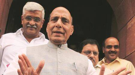 Student Police Cadet Programme Crimes, rapes linked to Net, social media: Rajnath