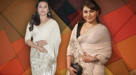 Rani Mukerji repeats a Sabyasachi sari and looks radiant this time around