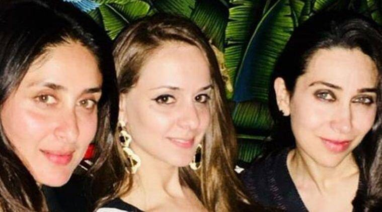 rannvijay singha's wife prianka singha with kareena and karisma