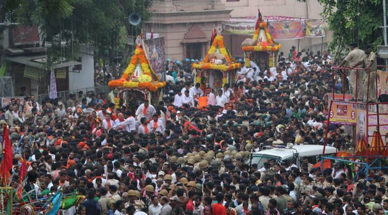 Jagannath Rath Yatra begins amid tight security in Ahmedabad, Puri; PM Modi extends greetings