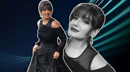 Raveena Tandon's monochrome game is getting better; here's proof