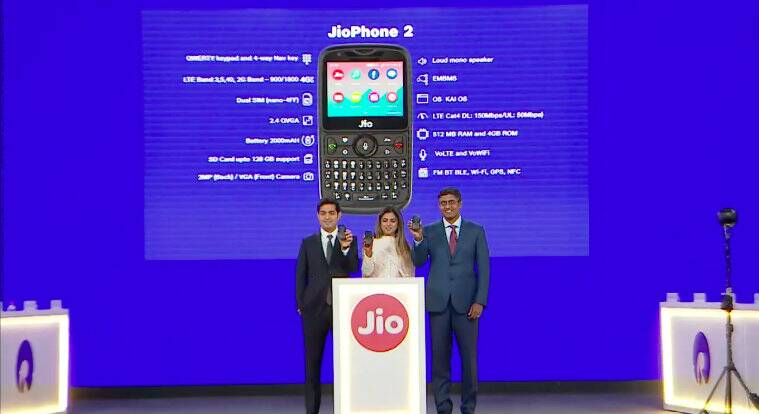 JioPhone 2, Reliance JioPhone 2, Reliance Jio, JioPhone 2 price in India, JioPhone 2 features, JioPhone 2 specifications, JioPhone 2 sale, JioPhone 2 first sale