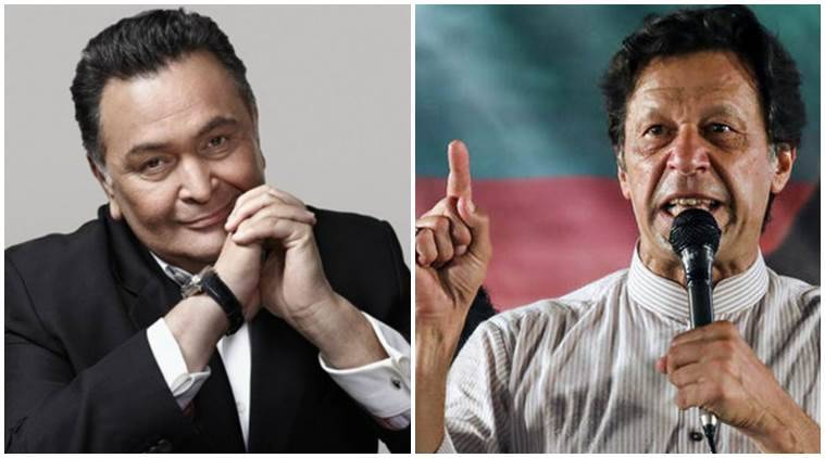 Indian Rishi Kapoor Praises Imran Khan