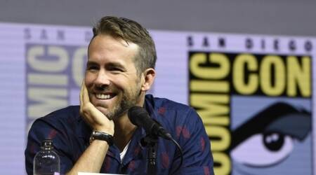 Ryan Reynolds at the San Diego Comic-Con