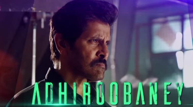 saamy square first single Adhiroobaney starring Vikram and Keerthy Suresh