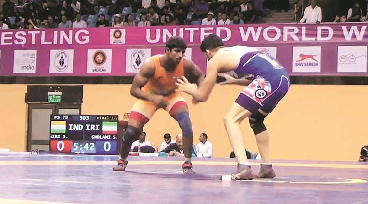 Silver lining for wrestler Sachin Giri: From selling milk to shining on mat