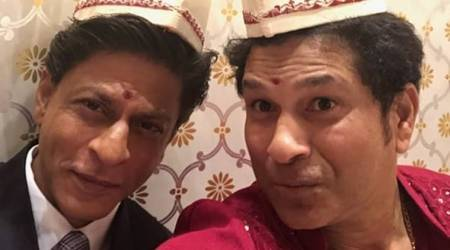 Sachin Tendulkar meets Shah Rukh Khan: When one king meets another