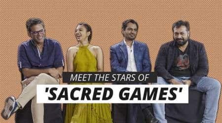 Sacred Games cast