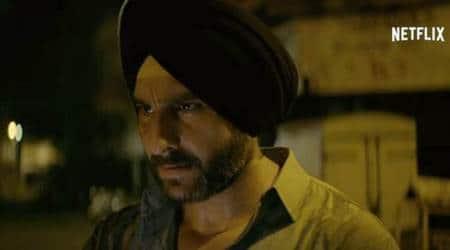 saif ali khan plays Sartaj Singh in Sacred Games