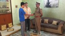 Chennai's police commissioner visits 22-year-old allegedly assaulted bysub-inspector