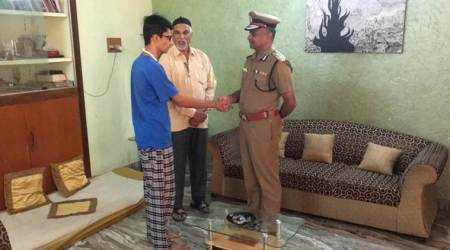 Chennai's police commissioner visits 22-year-old allegedly assaulted by sub-inspector