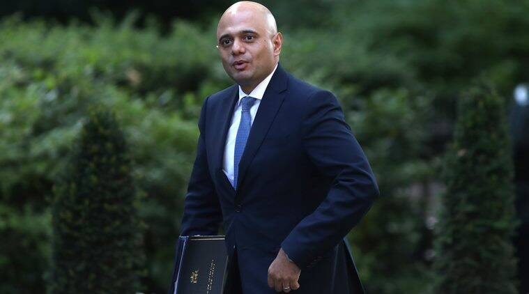 UK home secretary sajid javid, Indian students in UK, Test of English for International Communication, TOEIC, visa row, india news, indian express