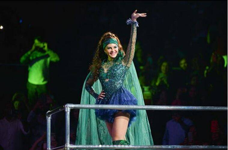 jacqueline fernandez photos from dabagg tour