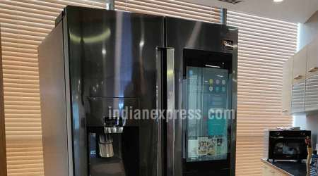At Rs 2.8 lakh, bring home a Samsung fridge that is smart enough to read out news, suggest recipes
