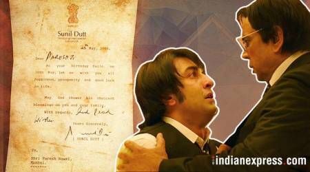 Here's the letter Sunil Dutt sent to Sanju actor Paresh Rawal